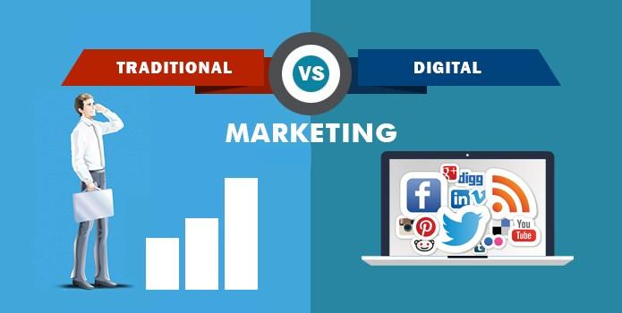 دیجیتال مارکتینگ یا بازاریابی سنتی