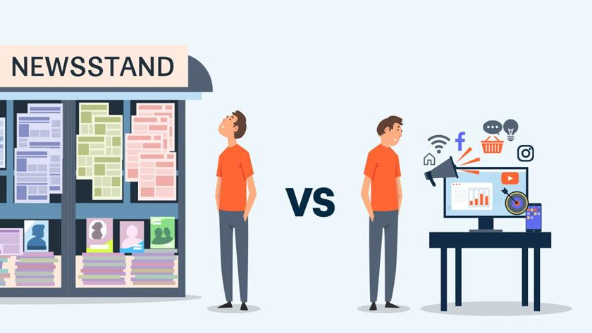 تبلیغات آنلاین یا سنتی